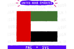 United Arab Emirates Graphic By Inkclouddesign