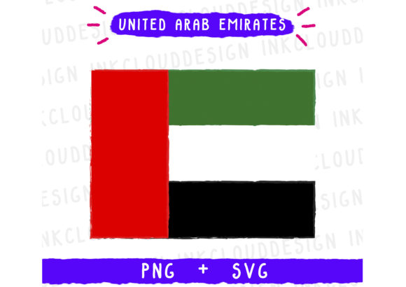 Print on Demand: United Arab Emirates Graphic Icons By Inkclouddesign