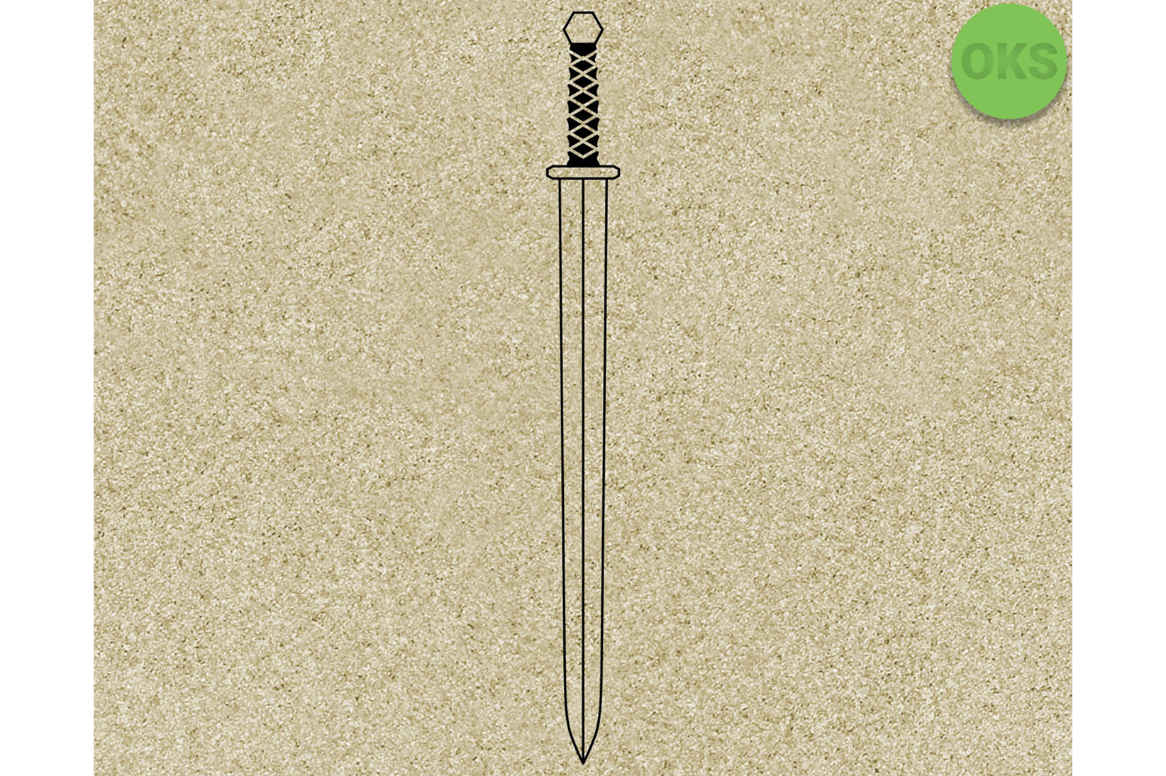 Download Free Viking Sword Grafico Por Crafteroks Creative Fabrica for Cricut Explore, Silhouette and other cutting machines.