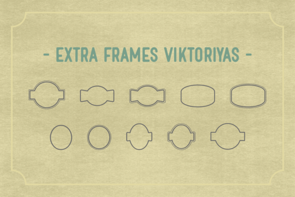 Print on Demand: Viktoriyas Display Font By Dani (7NTypes) - Image 4