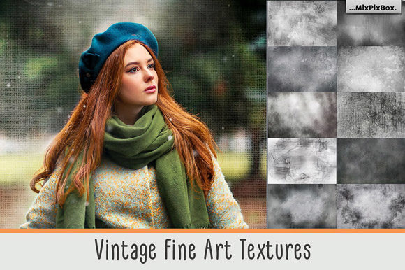 Print on Demand: Vintage Fine Art Textures Graphic Textures By MixPixBox
