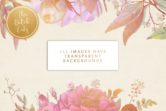 Download Free Vintage Florals Botanicals Clipart Set Graphic By for Cricut Explore, Silhouette and other cutting machines.