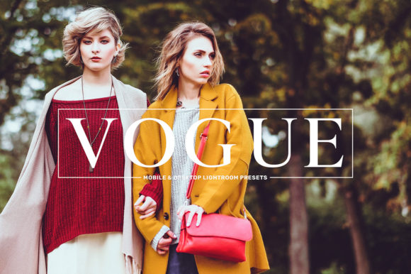 Print on Demand: Vogue Mobile & Desktop Lightroom Presets Collection Graphic Actions & Presets By Creative Tacos