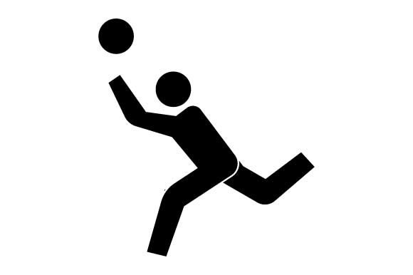 Download Free Volleyball Sport Black Icon Graphic By Hoeda80 Creative Fabrica for Cricut Explore, Silhouette and other cutting machines.