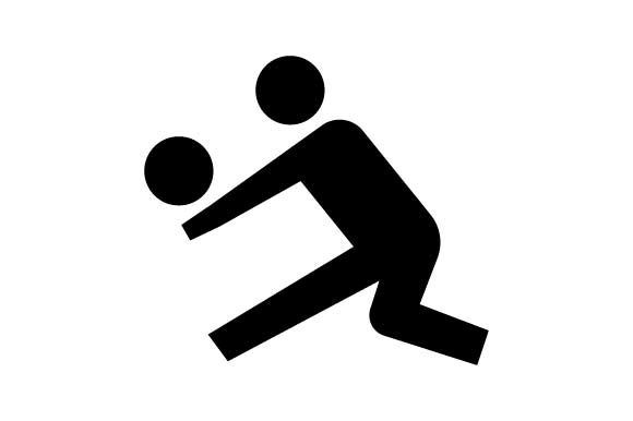 Download Free Volleyball Sport Icon Graphic By Hoeda80 Creative Fabrica for Cricut Explore, Silhouette and other cutting machines.