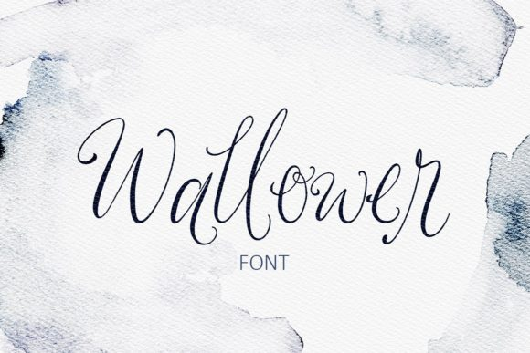 Wallower Script & Handwritten Font By Creativeqube Design