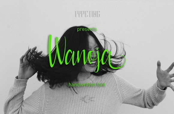 Print on Demand: Wanoja Script & Handwritten Font By Typeting Studio - Image 1