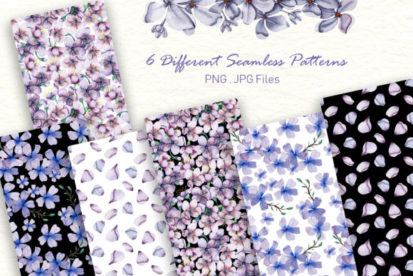 Print on Demand: Watercolor Flowers - Spring Collection Graphic Illustrations By tanatadesign - Image 3