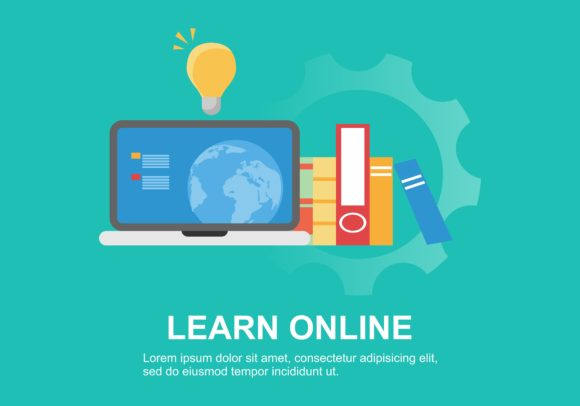Download Free Web Page Design Templates For Online Training Education Modern for Cricut Explore, Silhouette and other cutting machines.