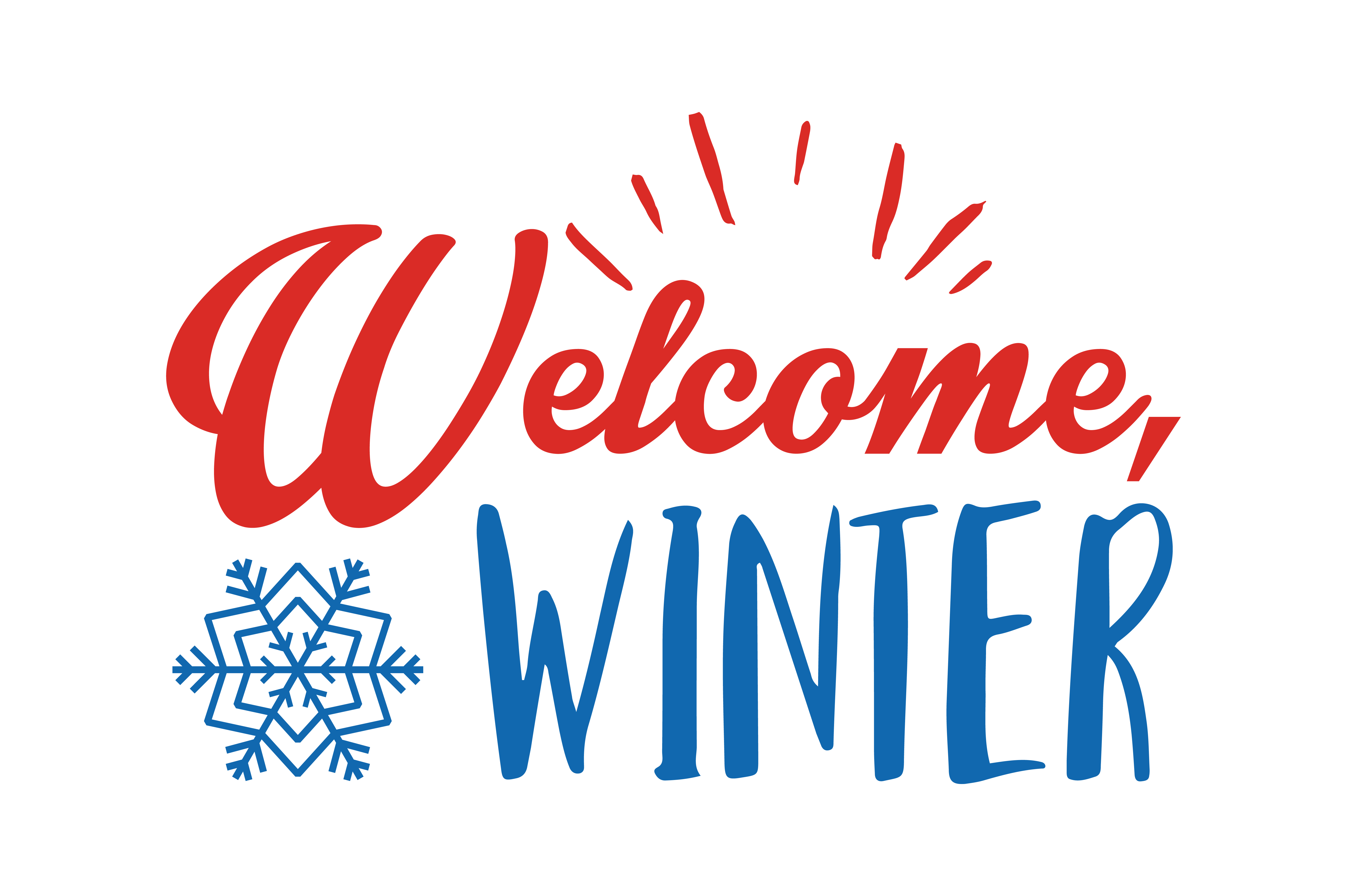 Download Free Welcome Winter Quote Svg Cut Graphic By Thelucky Creative Fabrica for Cricut Explore, Silhouette and other cutting machines.