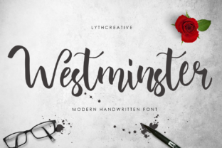 Westminster Font By lyanatha
