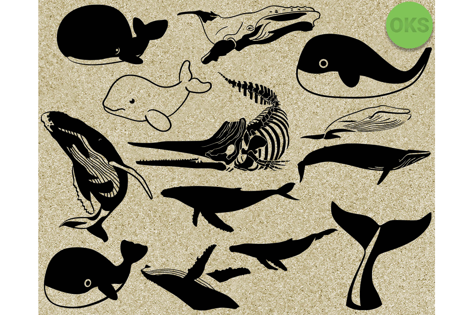 Download Free Whale Svg Grafico Por Crafteroks Creative Fabrica for Cricut Explore, Silhouette and other cutting machines.