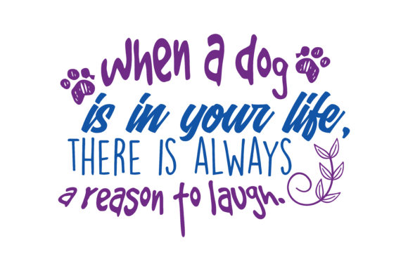 Print on Demand: When a God is in Your Life, There is Always a Respon to Laugh Quote SVG Cut Graphic Crafts By TheLucky