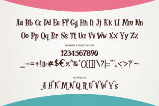 Print on Demand: Whimsy Dhimsy Decorative Font By RVST 4