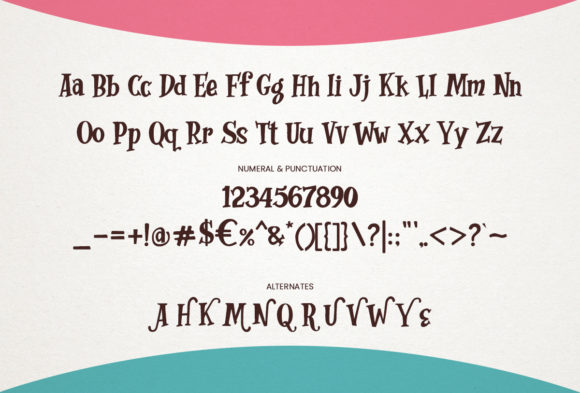 Print on Demand: Whimsy Dhimsy Decorative Font By RVST - Image 4