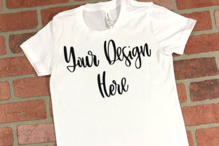 Download Free White Youth Unisex T Shirt Mockup Graphic By Boecustomdesign for Cricut Explore, Silhouette and other cutting machines.