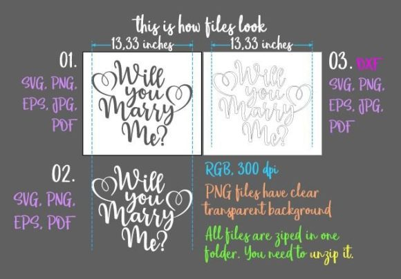 Download Free Will You Marry Me Svg Graphic By Digitals By Hanna Creative for Cricut Explore, Silhouette and other cutting machines.