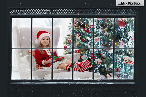 Print on Demand: Window Frames Overlays Graphic Layer Styles By MixPixBox - Image 2