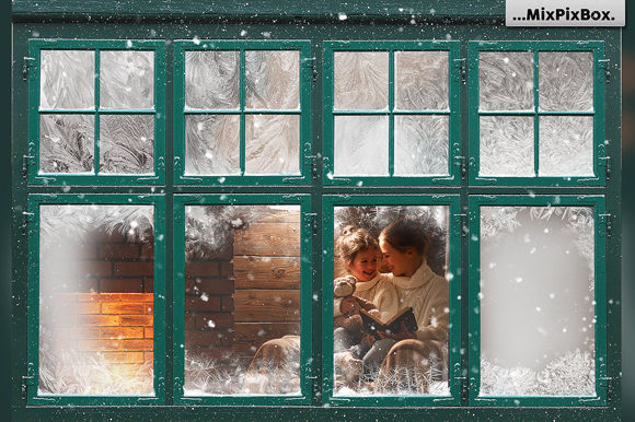 Print on Demand: Window Frames Overlays Graphic Layer Styles By MixPixBox - Image 3