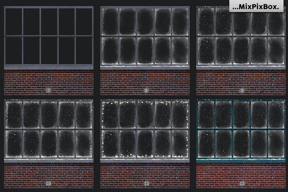 Print on Demand: Window Frames Overlays Graphic Layer Styles By MixPixBox - Image 4