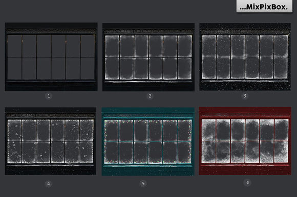 Print on Demand: Window Frames Overlays Graphic Layer Styles By MixPixBox - Image 6