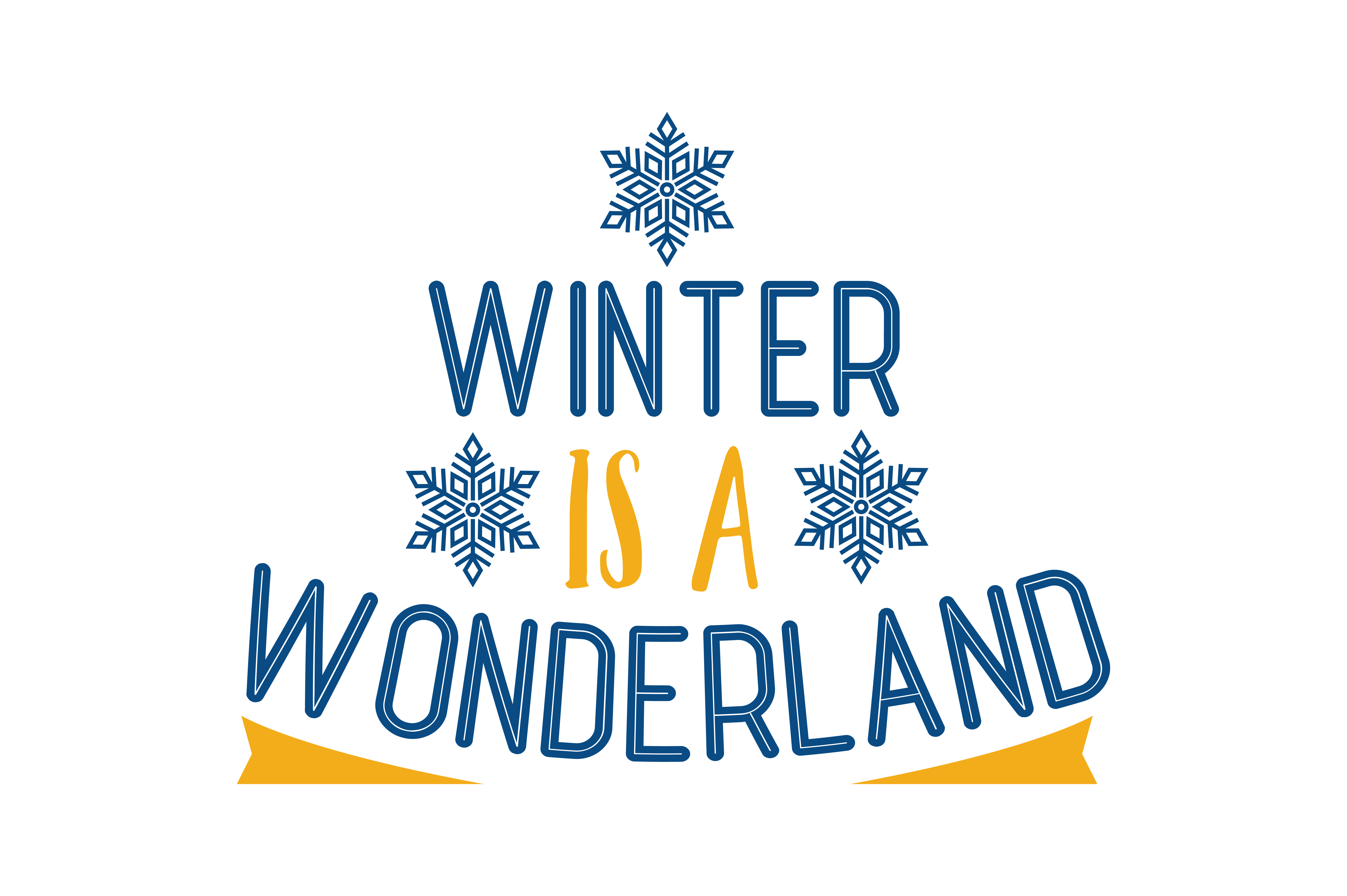 Download Free Winter Is A Wonderland Quote Svg Cut Graphic By Thelucky for Cricut Explore, Silhouette and other cutting machines.