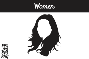 Download Free Women Silhouette Svg Vector Image Graphic By Arief Sapta Adjie for Cricut Explore, Silhouette and other cutting machines.