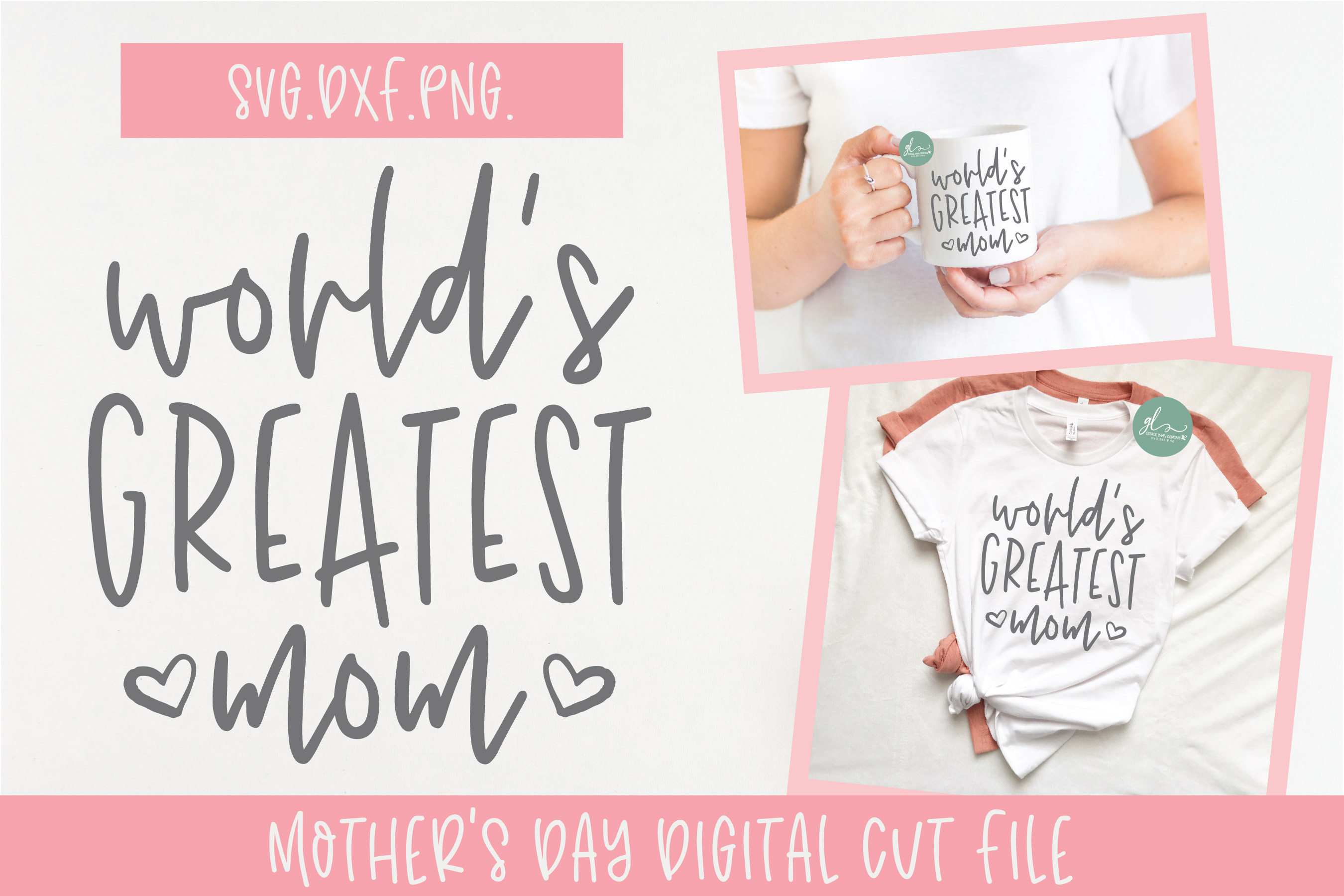 Download Free World S Greatest Mom Graphic By Gracelynndesigns Creative Fabrica for Cricut Explore, Silhouette and other cutting machines.