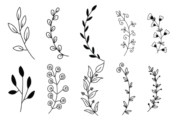 Wreaths Laurels and Branches Graphic Illustrations By carrtoonz - Image 2