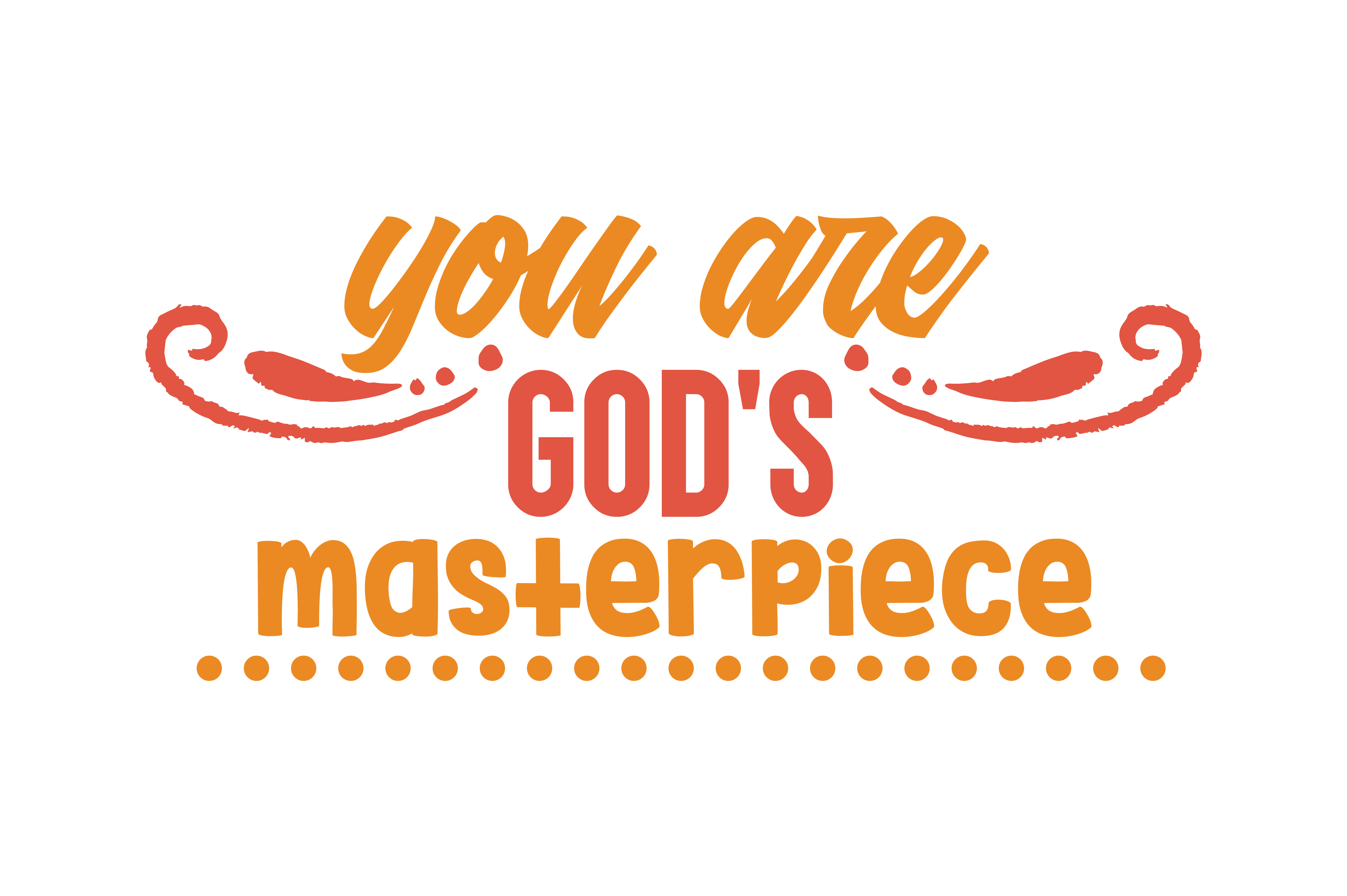 Download Free You Are God S Masterpiece Quote Svg Cut Graphic By Thelucky for Cricut Explore, Silhouette and other cutting machines.