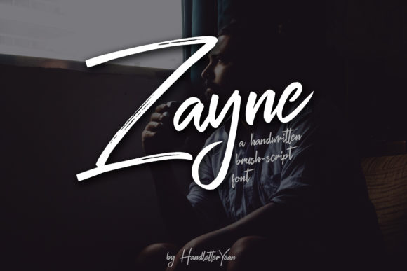 Print on Demand: Zayne Script & Handwritten Font By yean.aguste - Image 1