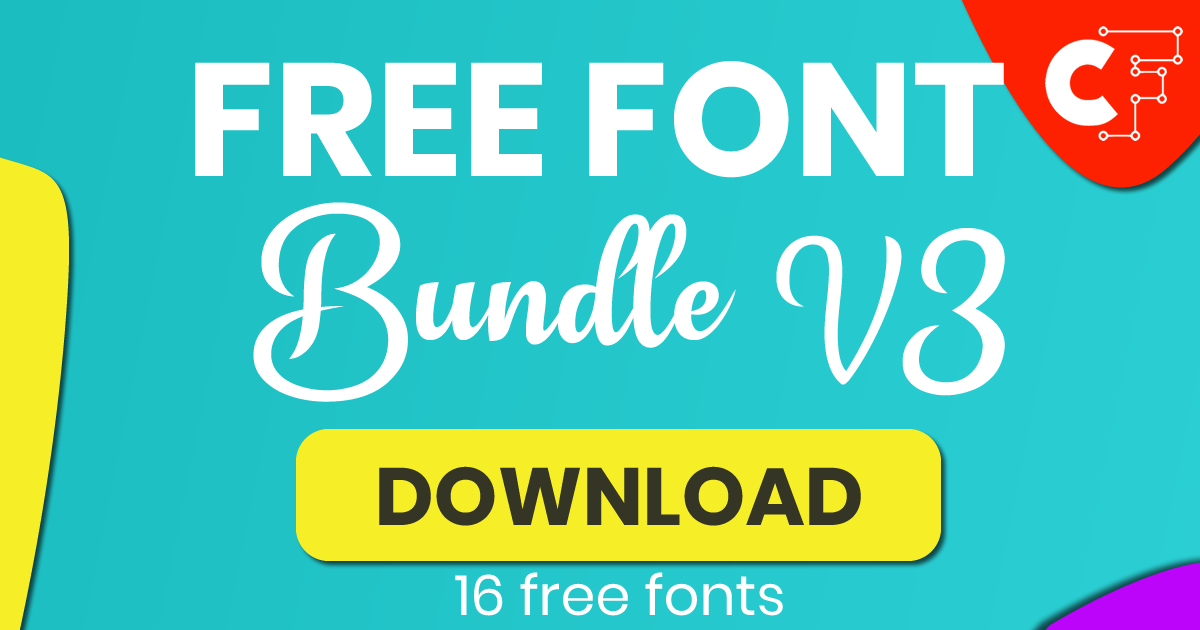 Download Free Free Font Bundle V3 Bundle Creative Fabrica for Cricut Explore, Silhouette and other cutting machines.