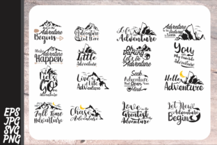 Download Free 16 Adventure Vector Bundle Graphic By Arief Sapta Adjie for Cricut Explore, Silhouette and other cutting machines.