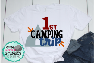 Download Free 1st Camping Trip Svg Graphic By Onestonegraphics Creative Fabrica for Cricut Explore, Silhouette and other cutting machines.