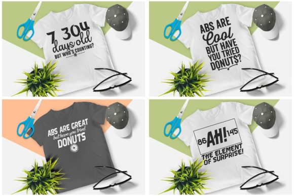 200 Print Ready T-Shirt Design Graphic Print Templates By Graphicsqueen - Image 2
