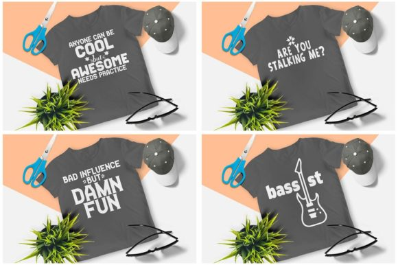 200 Print Ready T-Shirt Design Graphic Print Templates By Graphicsqueen - Image 3