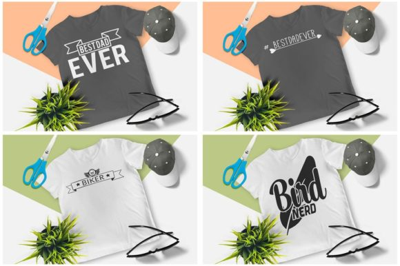 200 Print Ready T-Shirt Design Graphic Print Templates By Graphicsqueen - Image 5