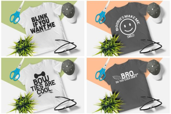200 Print Ready T-Shirt Design Graphic Print Templates By Graphicsqueen - Image 6