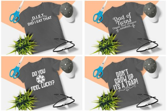 200 Print Ready T-Shirt Design Graphic Print Templates By Graphicsqueen - Image 9