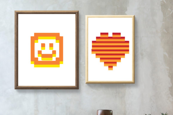 23 Graphic Prints - Pixel Art Graphic By GraphicsBam Fonts