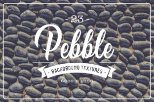 Download Free 23 Pebble Background Textures Graphic By Textures Creative Fabrica for Cricut Explore, Silhouette and other cutting machines.