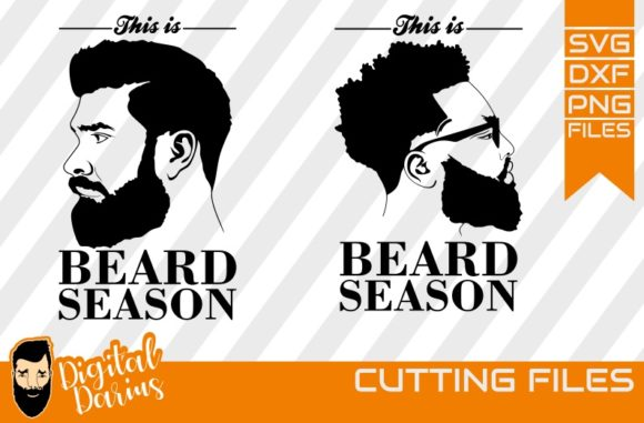 Download Free 2x Beard Season Svg Man Face Svg Graphic By Digitaldarius Creative Fabrica for Cricut Explore, Silhouette and other cutting machines.