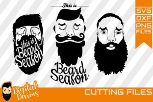 Download Free 3x Beard Man Beard Season Svg Man Face Graphic By Digitaldarius for Cricut Explore, Silhouette and other cutting machines.