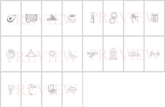 Download Free 40 Hand Drawn Instagram Icons Grafico Por Masters Of Mockups SVG Cut Files