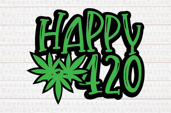 Download Free 420 Bundle Weed Marijuana Graphic By Kayla Griffin Creative Fabrica for Cricut Explore, Silhouette and other cutting machines.