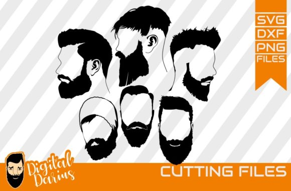 Download Free 5x Beard Man Svg Man Svg Hipster Beard Graphic By for Cricut Explore, Silhouette and other cutting machines.