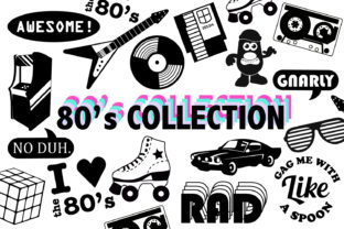 80s SVG Collection Graphic By Mine Eyes Design