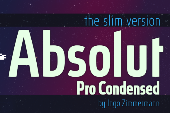 Print on Demand: Absolut Pro Condensed Sans Serif Font By ingoFonts