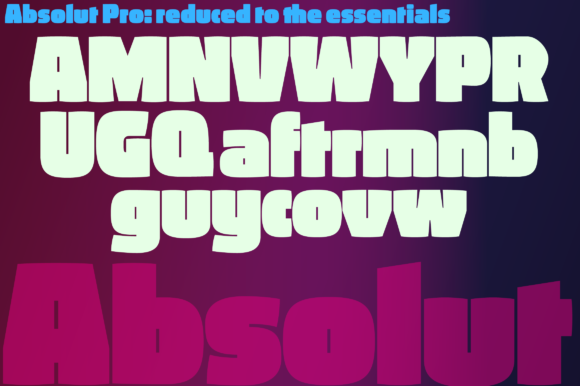 Download Free Absolut Pro Fat Font By Ingofonts Creative Fabrica for Cricut Explore, Silhouette and other cutting machines.