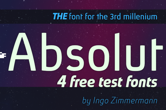 Print on Demand: Absolut Sans Serif Font By ingoFonts